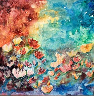 Au delà de l'eau | Sophie Ruel - artiste