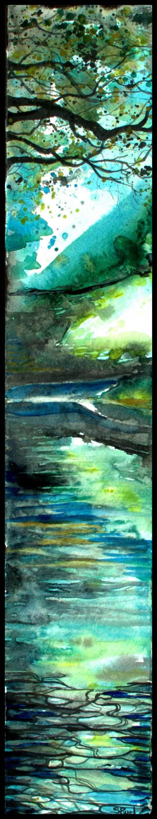 Nuit sous les branches   Sophie Ruel - artiste