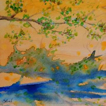 Le reflet du soleil   Sophie Ruel - artiste