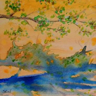 Le reflet du soleil | Sophie Ruel - artiste