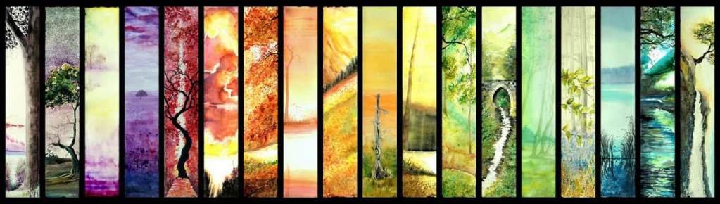 La conscience du ciel et de la terre | Toile | Sophie Ruel - artiste