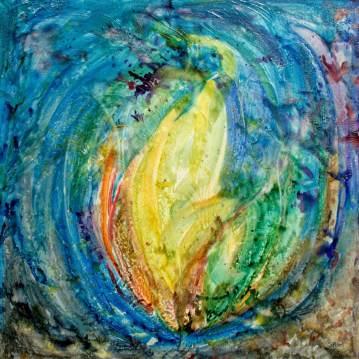 La naissance du lotus   Sophie Ruel - artiste