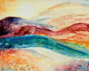 Terre en méditation | Sophie Ruel - artiste