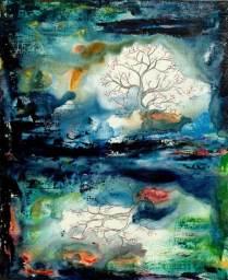 L'arbre à la lune | Sophie Ruel - artiste
