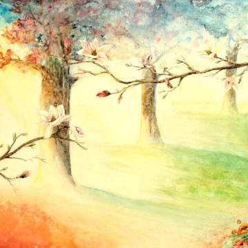 Ouverture de soi et magnolia   Sophie Ruel - artiste
