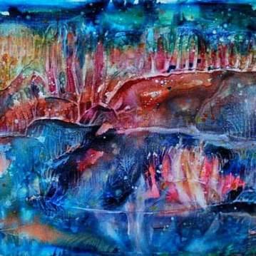 Le prana du corail   Sophie Ruel - artiste