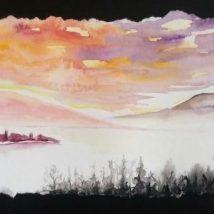 Les berges et les brumes | Sophie Ruel - artiste