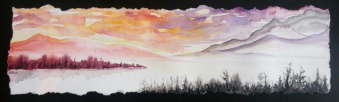 Les berges et les brumes   Sophie Ruel - artiste