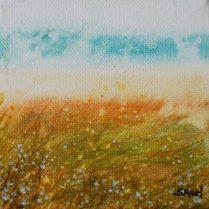 L'ocre et le ciel   Sophie Ruel - artiste