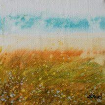 L'ocre et le ciel | Sophie Ruel - artiste