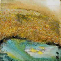Lune à l'étang | Sophie Ruel - artiste