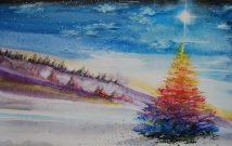 Sous l'astre de Noël | Sophie Ruel - artiste