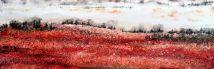 Il neige sur la bleuetière | Sophie Ruel - artiste
