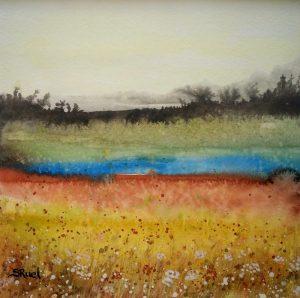 Le petit lac | Sophie Ruel - artiste