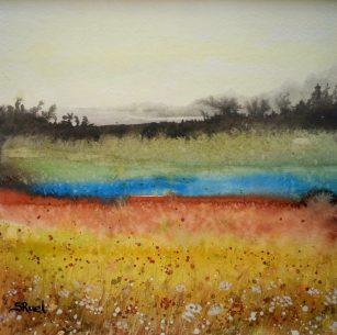 Le petit lac   Sophie Ruel - artiste