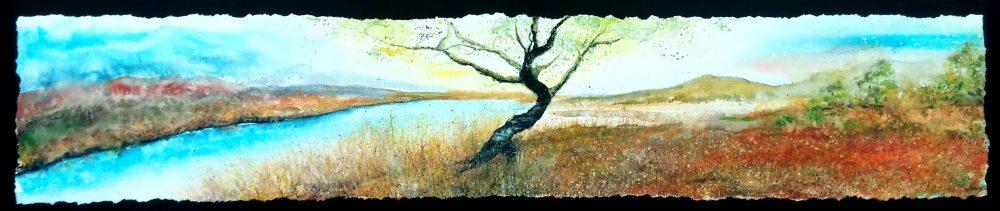 L'arbre au matin de sa lumière | Sophie Ruel - artiste