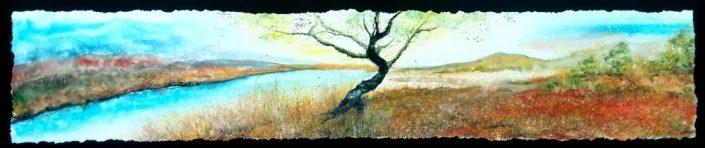 L'arbre au matin de sa lumière   Sophie Ruel - artiste