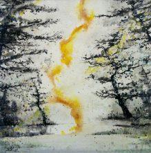 Coulée de lumière   Sophie Ruel - artiste
