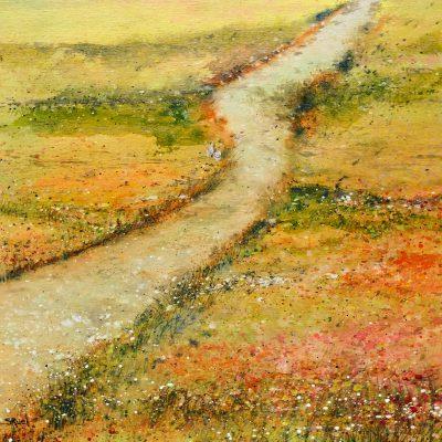 Papillon blanc guide le chemin | Sophie Ruel - artiste