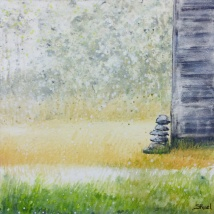 Au coin de la grange | Sophie Ruel – artiste